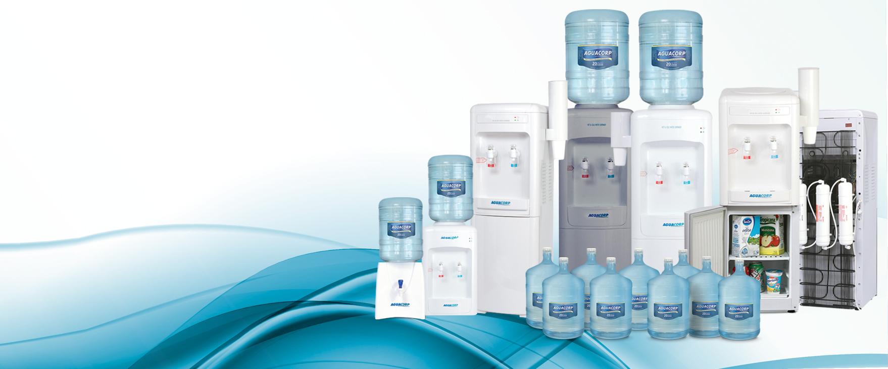 Dispenser de agua fría y caliente